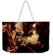 The Holy Night Weekender Tote Bag