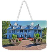 The Homestead Birthplace Of Milton Hershey Weekender Tote Bag
