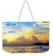 The Honeymoon - Sunset Art By Sharon Cummings Weekender Tote Bag by Sharon Cummings