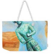 The Horned God From Egkomi .  Weekender Tote Bag