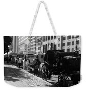 The Horse And Buggy Lineup Weekender Tote Bag