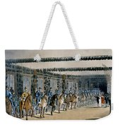 The Horse Armour Tower, Print Made Weekender Tote Bag