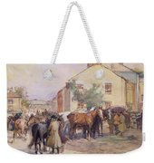 The Horse Fair  Weekender Tote Bag by John Atkinson