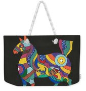 The Horse Of Good Fortune Weekender Tote Bag