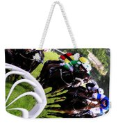 The Horse Race Weekender Tote Bag