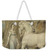The Horse Weekender Tote Bag by William Blake