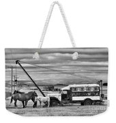 The Horses And The Welding Truck Weekender Tote Bag