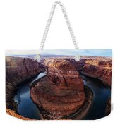 The Horseshoe River At Ultra High Resolution Weekender Tote Bag