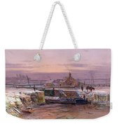 The House By The Canal Weekender Tote Bag