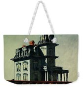 The House By The Railroad Weekender Tote Bag