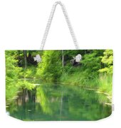 The House On The Bank Of The Lake Weekender Tote Bag