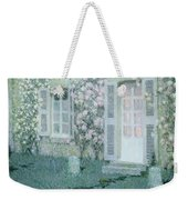 The House With Roses Weekender Tote Bag
