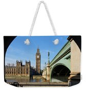 The Houses Of Parliament In London Weekender Tote Bag