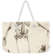 The Human Skeleton Weekender Tote Bag