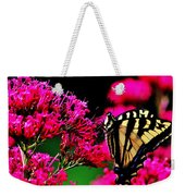 The Hungry Butterfly Weekender Tote Bag