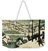 The Hunters In The Snow Weekender Tote Bag