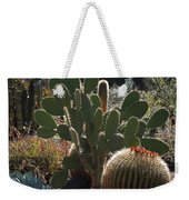 The Huntington Desert Garden Weekender Tote Bag by Rona Black