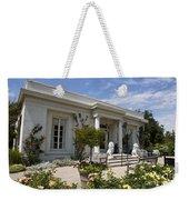 The Huntington Library Rose Garden Tea House Weekender Tote Bag