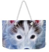 The Huskie Pup Weekender Tote Bag by Bill Cannon