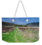 The Ice Age Trail Weekender Tote Bag by Jonah  Anderson