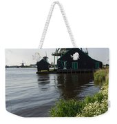 The Iconic Windmills Of  Holland  Weekender Tote Bag