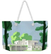 The Ideal House In House And Gardens Weekender Tote Bag