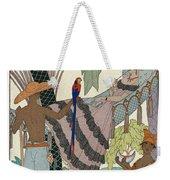 The Idle Beauty Weekender Tote Bag by Georges Barbier