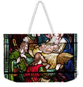 The Incarnation - Madonna And Child Weekender Tote Bag
