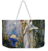 The Inspiration  Weekender Tote Bag by Gustave Moreau