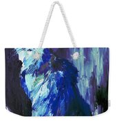 The Intuitive Silence Trembling With A Name Weekender Tote Bag