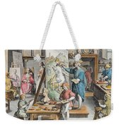 The Invention Of Oil Paint, Plate 15 Weekender Tote Bag