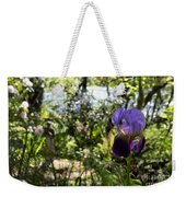 The Iris And St Francis Weekender Tote Bag