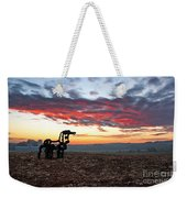 The Iron Horse Early Dawn The Iron Horse Collection Art Weekender Tote Bag