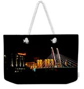 The Iron Horse And 6th Street Bridge Weekender Tote Bag