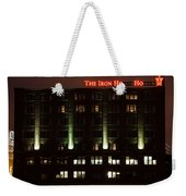 The Iron Horse Hotel Weekender Tote Bag