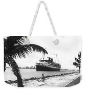 The Iroquois In Biscayne Bay Weekender Tote Bag