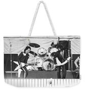 The J. Geils Band Rock Out In Oakland In 1976 Weekender Tote Bag