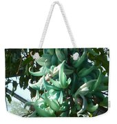 The Jade Vine Weekender Tote Bag