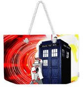 The Japanese Dr. Who Weekender Tote Bag