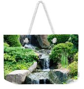 The Japanese Garden Weekender Tote Bag by Bill Cannon
