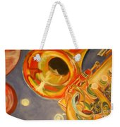 The Jazz Horn Weekender Tote Bag