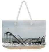 The Jetstar Rollercoaster In Seaside Heights Nj Weekender Tote Bag