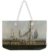 The Jetty Of Boulogne-ser-mer Weekender Tote Bag