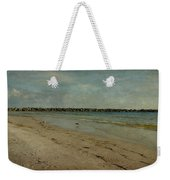The Jetty Weekender Tote Bag by Sandy Keeton