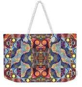 The Joy Of Design Mandala Series Puzzle 1 Arrangement 5 Weekender Tote Bag