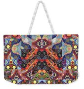The Joy Of Design Mandala Series Puzzle 1 Arrangement 9 Weekender Tote Bag
