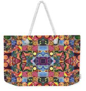 The Joy Of Design Mandala Series Puzzle 2 Arrangement 9 Weekender Tote Bag