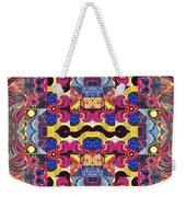 The Joy Of Design Mandala Series Puzzle 3 Arrangement 4 Weekender Tote Bag