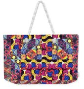 The Joy Of Design Mandala Series Puzzle 3 Arrangement 8 Weekender Tote Bag