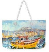 The Kalk Bay Harbour Weekender Tote Bag